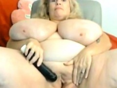 big-tittied-chubby-granny-masturbation
