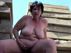 grandma-seduce-to-fuck-outdoor-by-young-stranger-boy