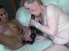 blonde-granny-uses-huge-dildo