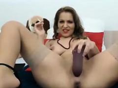slut-smokes-and-uses-a-thick-dildo