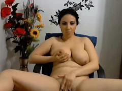 Hot Pretty Turkish Big Titted Camgirl Masturbation