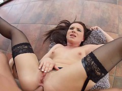 AssTraffic Czech Wendy Moon does ass to mouth and cum