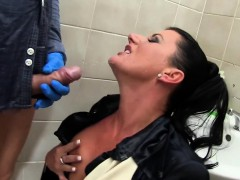 urine girl sperm soaked