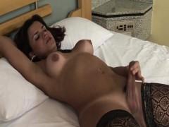 hilda-brasil-pretty-tgirl-stripping-and-jerking