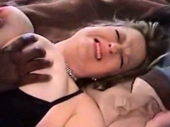 blonde bbw cheating on her hubby with a huge black cock – نيك صعب شقراء تتناك اصعب نيك من زب اسود فى كسها