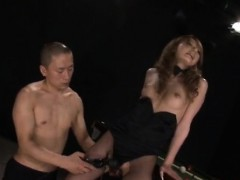 sena-aragaki-has-fishnets-cut-to-get-sex-toys-in-ass-and-in