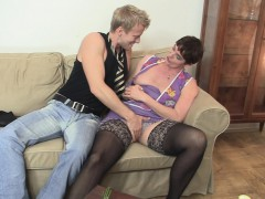 old-granny-in-black-stockings-rides-his-meat