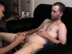 Straight Boy Johnny Shares Cock