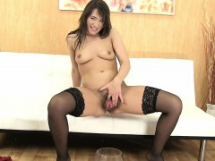 hot-milf-in-stockings-pees-and-uses-vibrator
