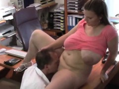 huge-melons-bouncing-in-the-office