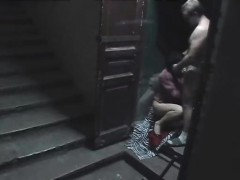 staircase-security-cam-catpures-wife-fucking