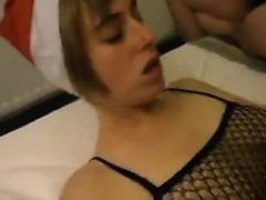 Sandra Ugly German Mature Gangbanged