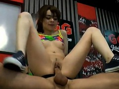 Girl Riding Dick And Gets Anal Fucking