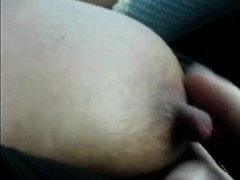 tugging-in-the-auto-on-her-best-nipples
