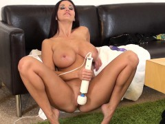 big breasted mommy with a marvelous butt ava addams toys her wet peach