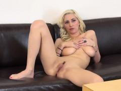 buxom blonde nympho shay laren expresses her need for masturbation