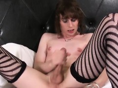 Solo Femboy Dildo Fucking After Jerking