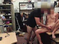 Tight Pussy Blond Drill From Behind