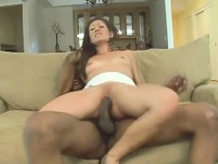 sexy-slim-brunette-with-lovely-tits-impales-herself-on-a-black-stick