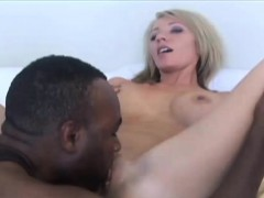 Busty Blonde Housewife Ride On A Bbc