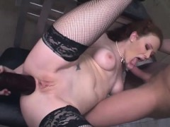horny-red-haired-whore-gets-fucked-with-vegetables-and-sausages