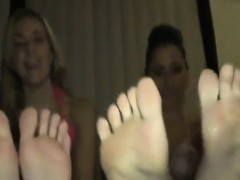 interested christine friend feet tease
