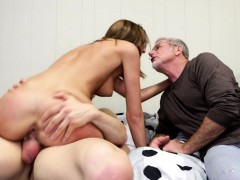 dirty-old-man-watches-a-sultry-young-babe-wildly-fucking-a-hard-cock
