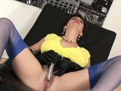 Adulterous British Mature Lady Sonia Presents Her Large Boob