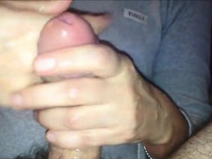patting-his-penis-that-is-hairy-to-climax