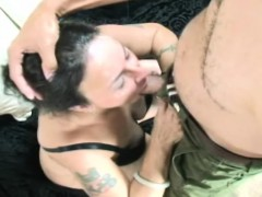 older brunette miss nina swiss is a dirty old broad who
