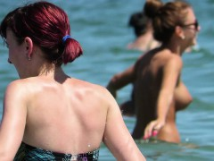 sexy amateurs topless voyeur beach – cute monster tits babes