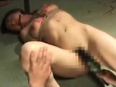 Submissive Oriental Lady Gets Covered In Hot Wax And Enjoys