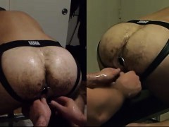 Mister Operating My Cunt With Dildos And Fist Over Great