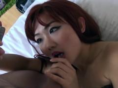 Sweet Asian Schoolgirl Fucks In Corset