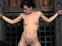 gagged-beauty-s-slit-is-being-fucked-viciously-by-hard-rod