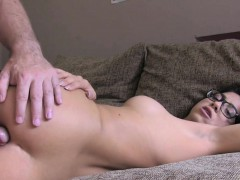 english beauty backdoor penetrated in casting
