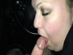 large breasts milf that is stunning likes to suck on penis