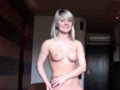 casting doll leaves after hardcore sex and backdoor banging