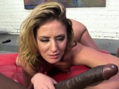 sheena shaw likes the big black cock inside her
