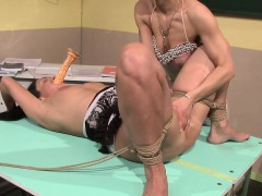 dominated-eurobabe-pussyfingered-and-tiedup