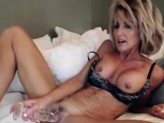 horny-milf-blonde-hard-masturbating-in-bed