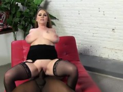 desiree de luca takes black penis in front of her son