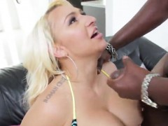 Pornstar Hottie Gets Her Anal Hole Poked With Monster Dick