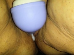 Wife Playing With New Hitachi Atta Jade From 1fuckdatecom