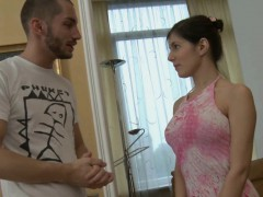 beauty is playing with her snatch during carnal oil massage