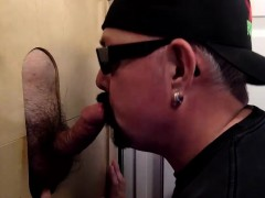 Afternoon Gloryhole Blow Job