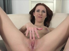 ginger euro auditions by poking casting dude