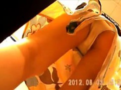Upskirt In A Shop That Is Remedial