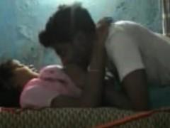 Indian Boyfriend And Girlfriend Enjoying On Cam