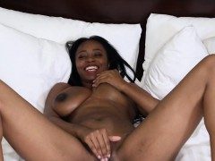 ebony slut with big tits